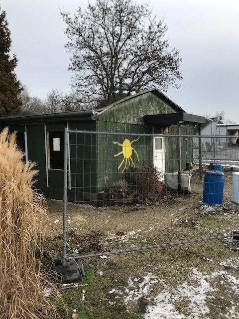 Abbruch Hütte